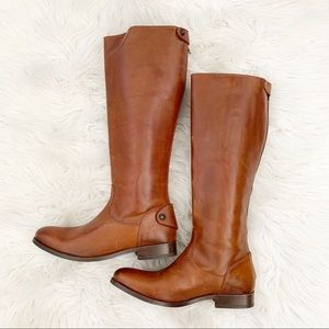 Frye Size 8 Melissa Harness Riding Boots